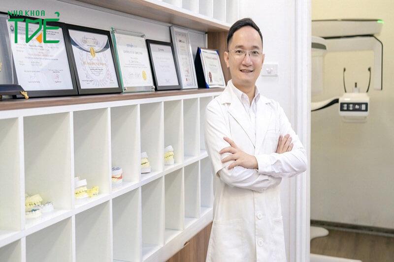 Bác sĩ Nguyễn Huy Hoàng – Bác sĩ chỉnh nha uy tín tại Nha khoa Trẻ