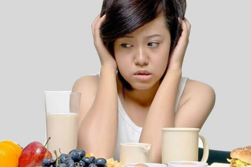 Hiện tượng đau nhức kéo dài làm người bệnh mất hứng thú ăn uống