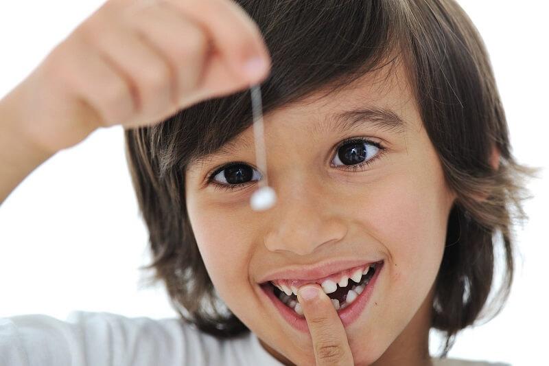 Giai đoạn thay răng sữa ở trẻ là từ 5 - 12 tuổi