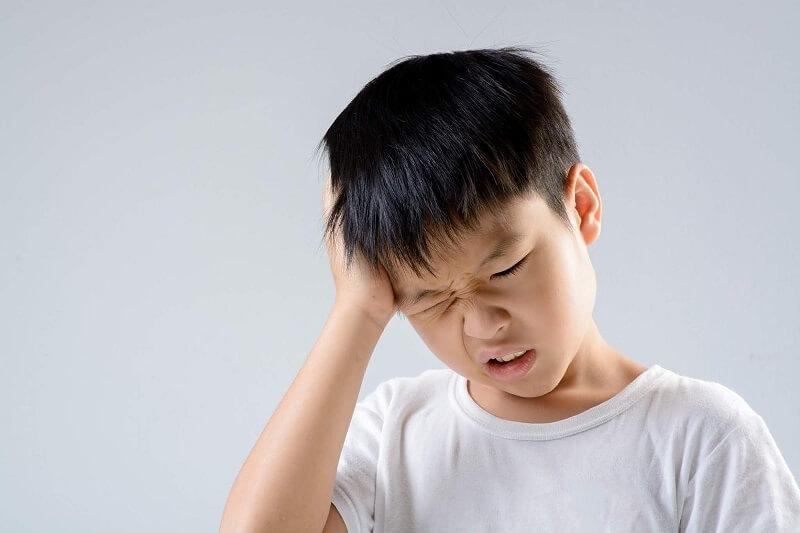 Thói quen nghiến răng ở trẻ em
