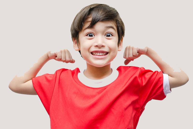 Hàm răng đều đẹp giúp trẻ phát triển tốt nhất