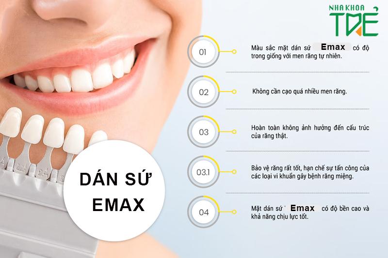 Dán sứ Emax là gì? Trường hợp răng nào cần dán sứ Emax?