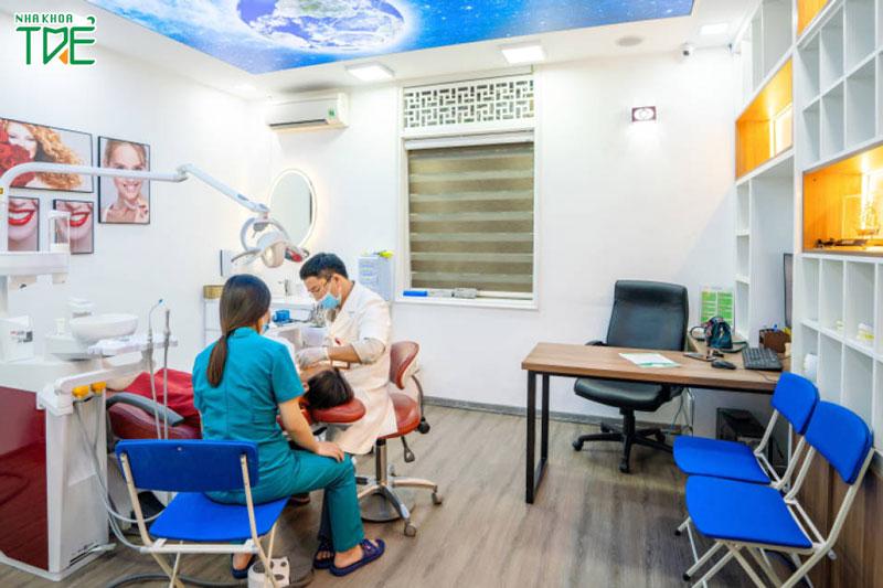 Máy móc thiết bị tân tiến và cơ sở vật chất hiện đại giúp niềng răng trẻ em đạt hiệu quả tối ưu