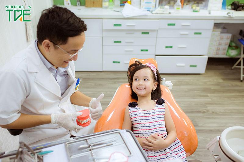 Nhổ răng tại Nha khoa Trẻ không đau, không ê buốt cho trẻ