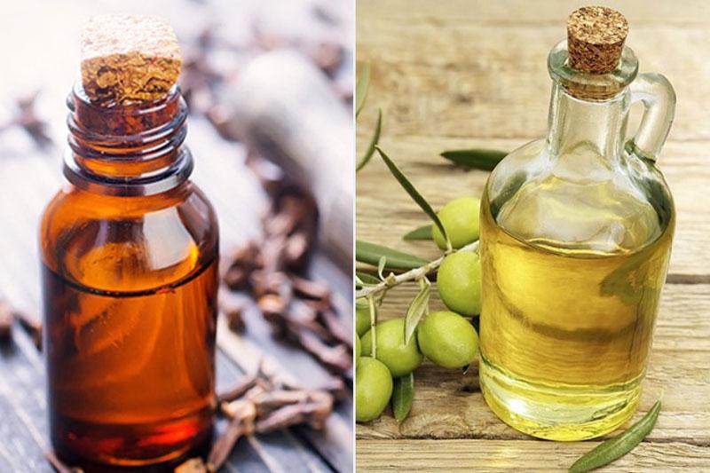 Hỗn hợp dầu oliu và đinh hương hỗ trợ giảm sâu răng tại nhà hiệu quả