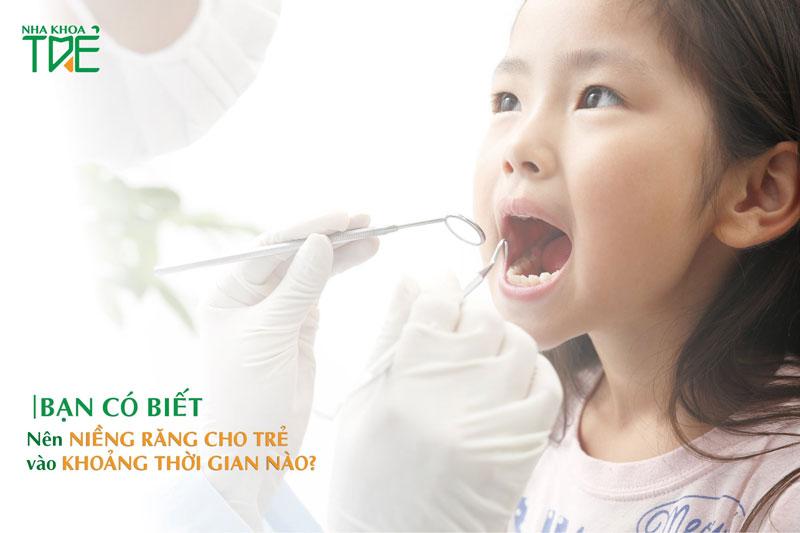 Có nên niềng răng cho trẻ em không?