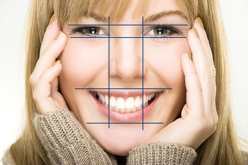 Khớp cắn chuẩn có tự tương quan hài giữa hàm răng và khuôn mặt