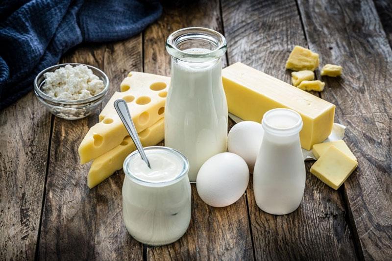 Các sản phẩm từ sữa giàu canxi rất tốt cho sức khỏe răng miệng