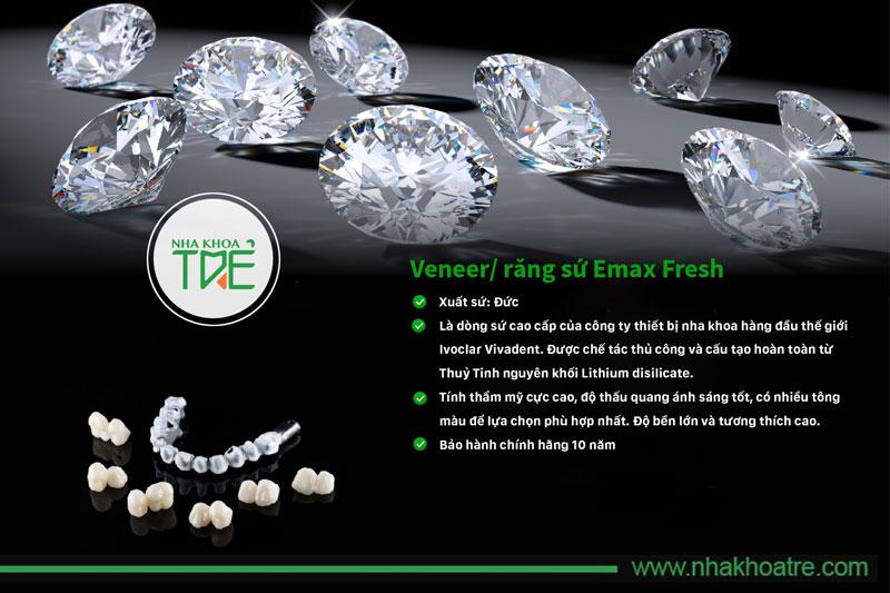 Răng sứ Emax có nhiều ưu điểm vượt trội