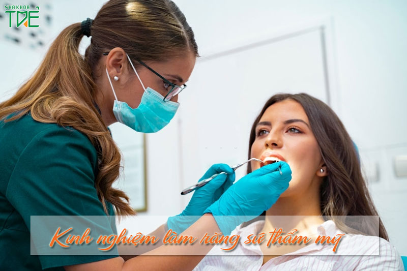 7 kinh nghiệm làm răng sứ thẩm mỹ nhất định phải biết