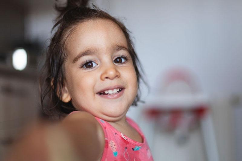 Trẻ 3 tuổi là đã hoàn tất hàm răng sữa