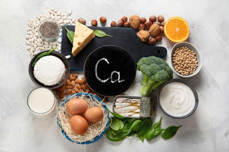Canxi là thành phần dinh dưỡng quan trọng cho sự phát triển của răng