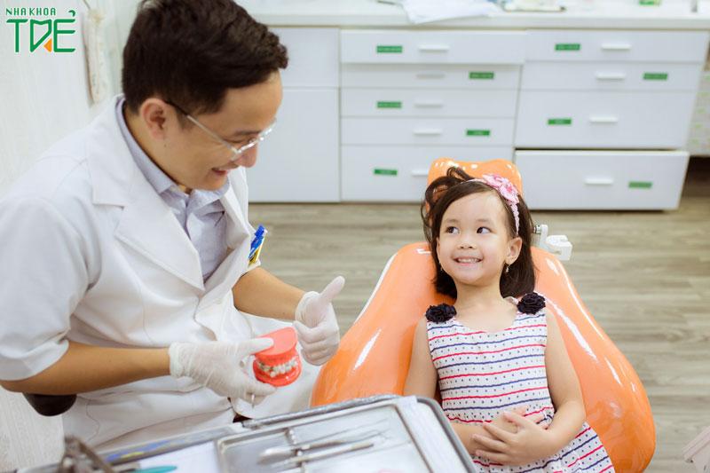 Hàn răng cho bé an toàn, nhẹ nhàng tại Nha khoa Trẻ