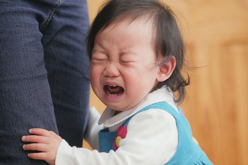 Tình trạng viêm nướu khiến trẻ đau nhức, quấy khóc liên tục