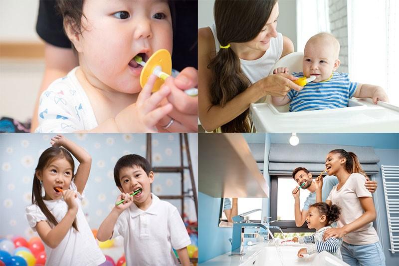 Chăm sóc sức khỏe răng miệng cho trẻ ở mọi lứa tuổi