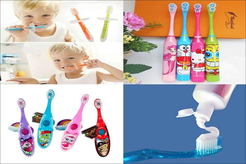 Chăm sóc răng miệng cho trẻ dễ dàng hơn khi lựa chọn đúng bàn chải và kem đánh răng