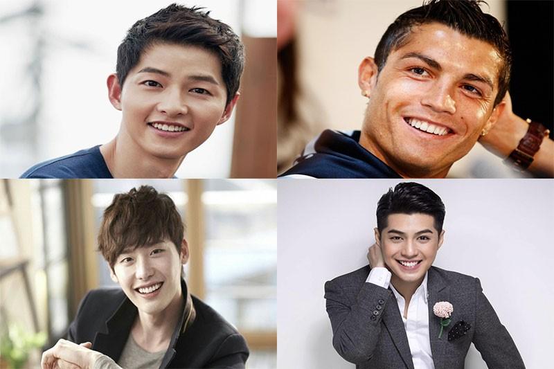 Một số nam ca sĩ, diễn viên có hàm răng đẹp đầy đủ tiêu chuẩn