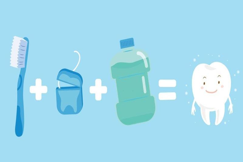Vệ sinh răng miệng toàn diện bằng nhiều dụng cụ chuyên dụng khác nhau