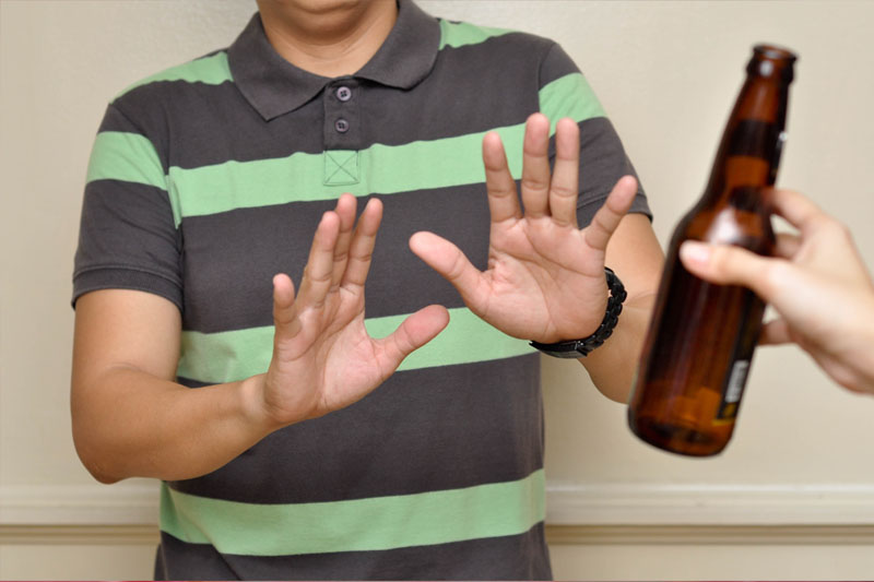 Không sử dụng rượu bia trong giai đoạn chờ lành thương