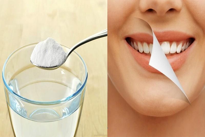 Súc miệng nước muối có làm trắng răng nhưng hiệu quả không cao