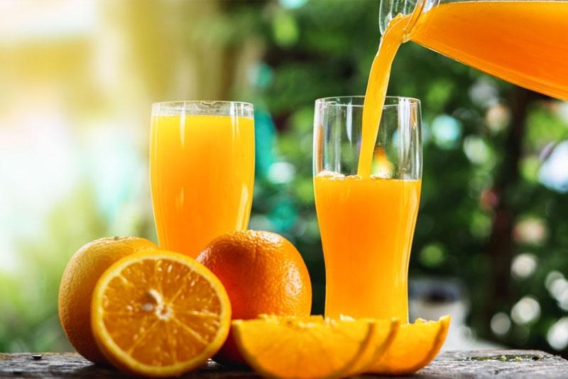 Nước ép cam giúp làm sạch răng lợi hiệu quả hơn