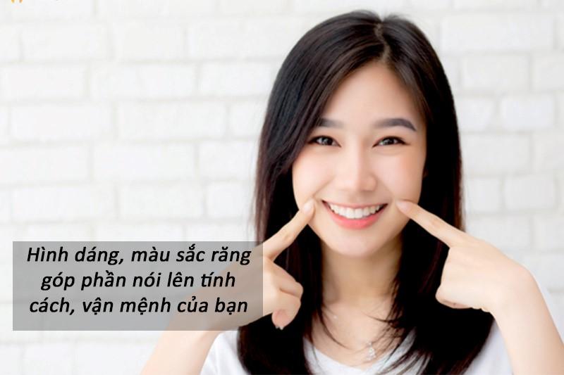 Người có răng trắng sáng, đều đẹp được coi là may mắn, phú quý