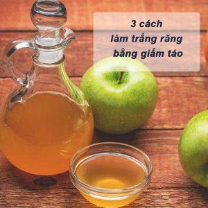 Bỏ túi 3 mẹo làm trắng răng bằng giấm táo đơn giản, hiệu quả bất ngờ