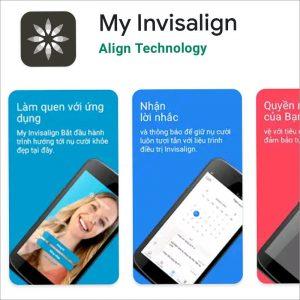 """""""My Invisalign"""" Phần mềm theo dõi và hướng dẫn chỉnh nha hiệu quả"""