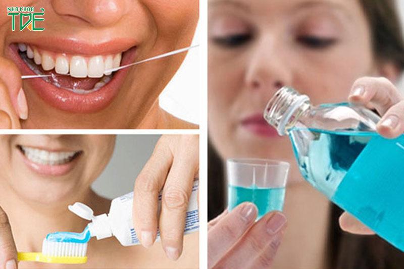 Súc miệng là một biện pháp vệ sinh răng miệng khá quan trọng