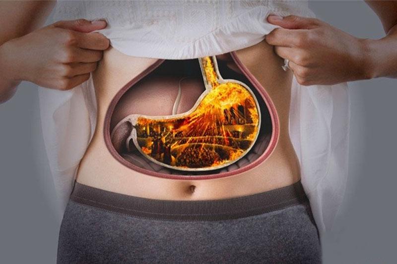 Hệ tiêu hóa bị ảnh hưởng nghiêm trọng do việc ăn nhai gặp khó khăn