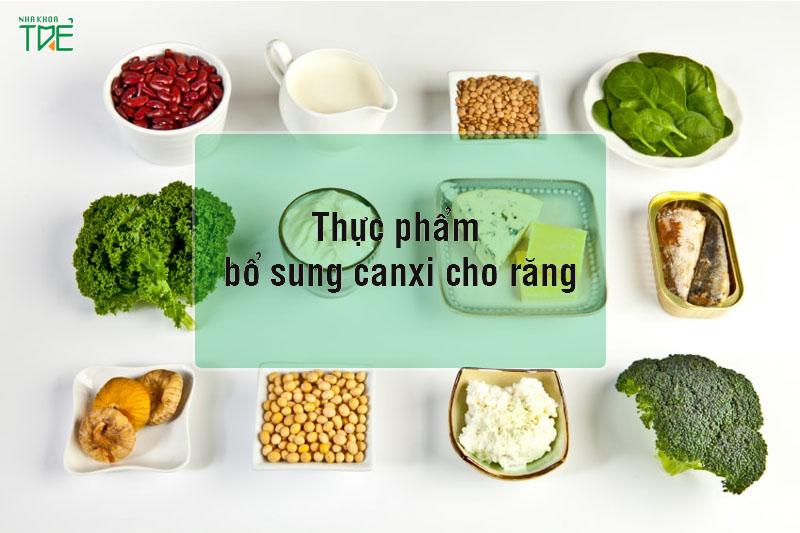 Tổng hợp 11 thực phẩm bổ sung canxi cho răng không thể bỏ qua
