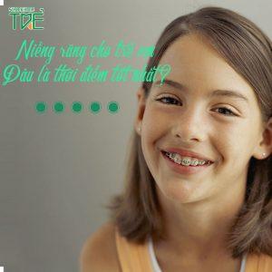 Niềng răng cho trẻ em: Đâu là thời điểm tốt nhất?
